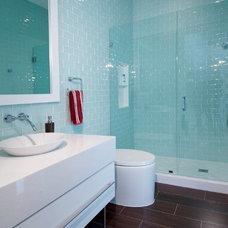 Contemporary Bathroom by Marmol Export USA