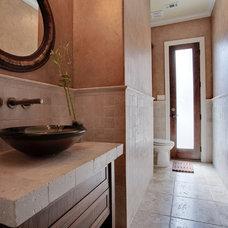Contemporary Bathroom by Barbara Gilbert Interiors