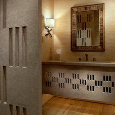 Mediterranean Bathroom by Gordon Stein Design