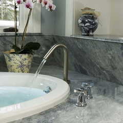 traditional bathroom by Morningstar Stone & Tile