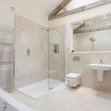 Contemporary Bathroom by Charlotte Cassandra Interiors