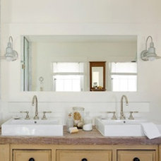 Contemporary Bathroom by Barn Light Electric Company