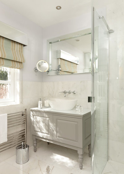 Traditional Bathroom by Charlotte Conway Design