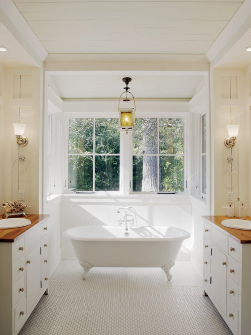 inspiration for a rustic bathroom remodel with a claw foot tub and. beautiful ideas. Home Design Ideas