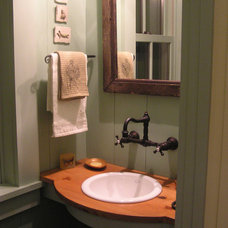Rustic Bathroom by Historical Concepts
