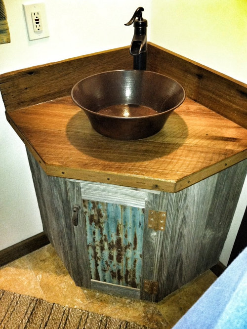 Barn Wood Vanity Ideas Pictures Remodel And Decor