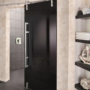 Bathroom - modern bathroom idea in Miami