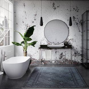 Bathroom - shabby-chic style bathroom idea in San Francisco