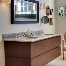 Eclectic Bathroom by Redesign London Limited