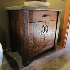 Rustic Bathroom by Mill Creek Mfg ltd