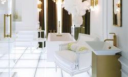 Barococo Futuristic Bathroom by Jonathan Adler