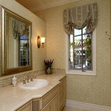 Mediterranean Bathroom by Hutchinson Design