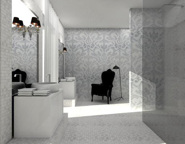 Contemporary Bathroom by Federica Burei