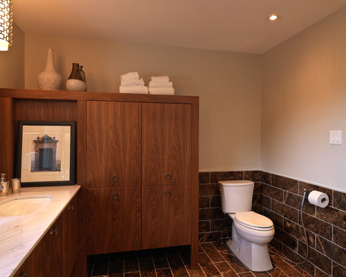 Award Winning Modern Retro Ensuite Renovation By Astro In Ottawa