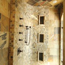 Craftsman Bathroom by Design Loft at Simcoe Building Centre