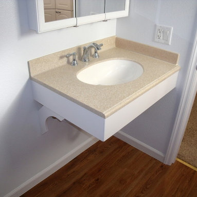 Small bathroom sink for studio bathroom joy studio design gallery best design for Wheelchair accessible sink bathroom