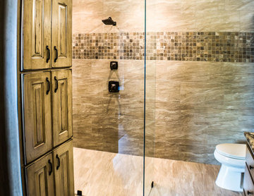 Barrier-Free Shower or curbless finish