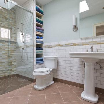 Barrier-Free Shower Stall