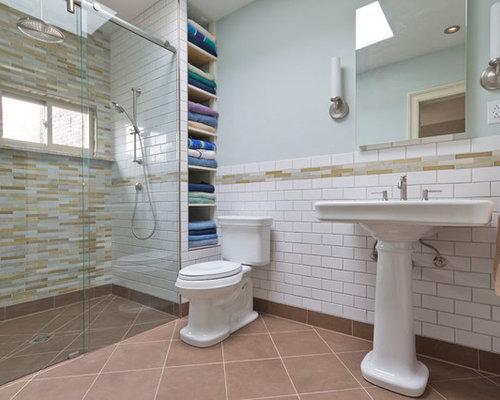 ada compliant glass shower