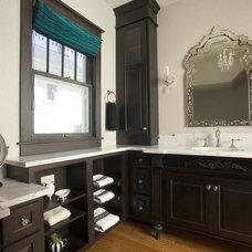 Traditional Bathroom by Janine Severyns