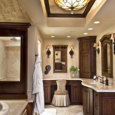 Traditional Bathroom by Marcel Page Photography