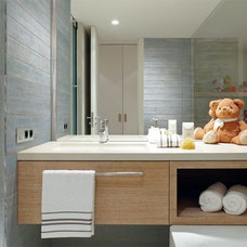 Contemporary Bathroom by Tile-Stones