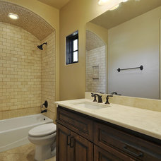 Mediterranean Bathroom by Capstone Custom Homes