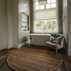 Transitional Bathroom by Schroeder