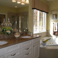 Eclectic Bathroom by Nancy Auman