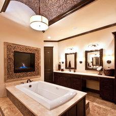 Contemporary Bathroom by Drew Walling Custom Homes