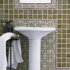 Traditional Bathroom by Pratt and Larson Ceramics