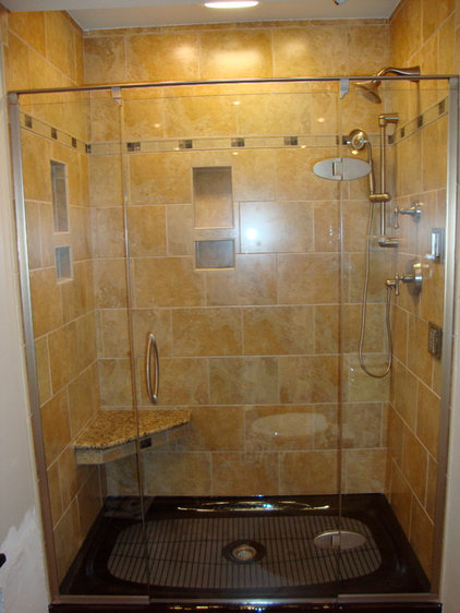 Traditional Shower Doors by ACR Kitchen And Bath