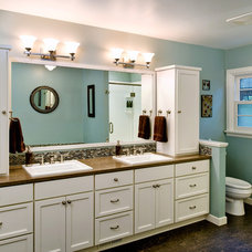 Traditional Bathroom by Henderer Design + Build