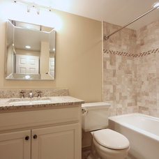 Traditional Bathroom by Hambleton Construction LLC