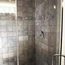 Contemporary Bathroom by Stebnitz Builders