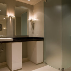 Contemporary Bathroom by Studio Santalla, Inc
