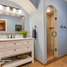 Traditional Bathroom by Finished Basement Company