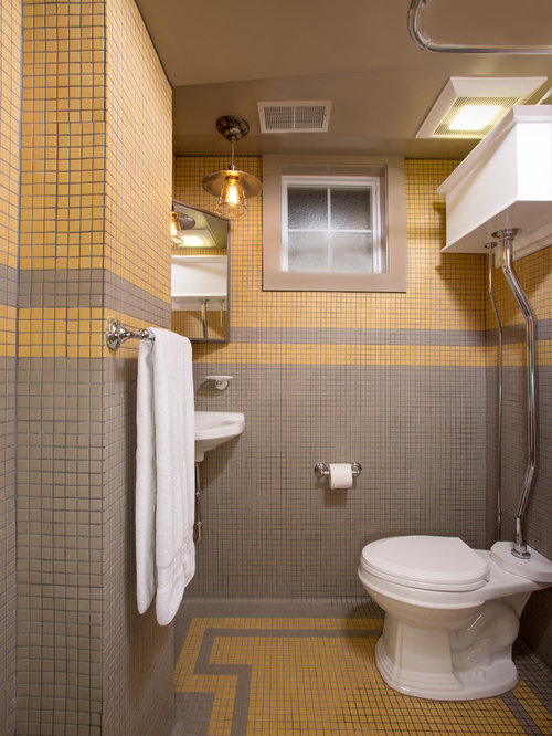 Awesome Multicolor Border  Contemporary  Tile  Portland  By Pratt And