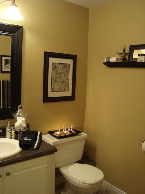 Half bath color home design ideas pictures remodel and decor Contemporary bathroom colors
