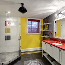 Eclectic Bathroom by The Consulting House Inc.