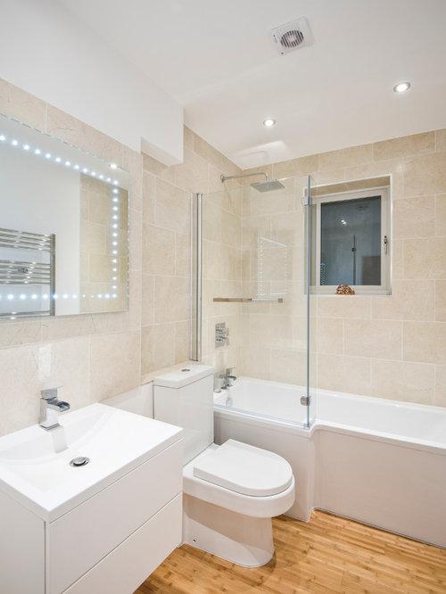 Bathroom design ideas renovations photos with an alcove for 2 piece bathroom ideas