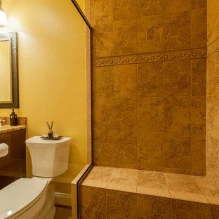ワシントンD.C.のモダンスタイルのおしゃれな浴室の写真