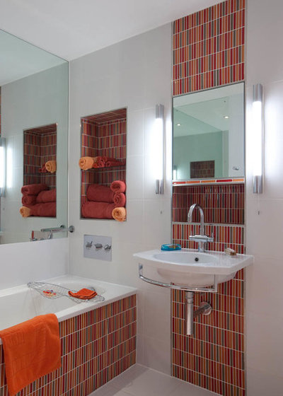 Contemporary Bathroom by jhd Architects