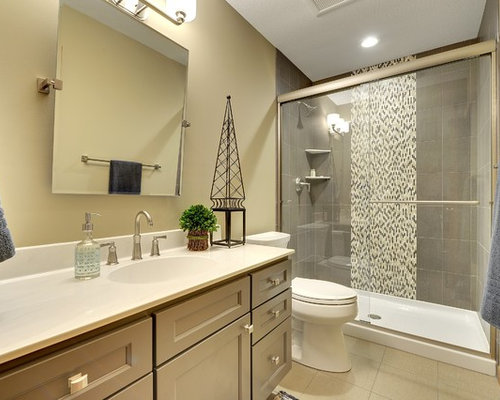 Gender neutral bathroom design ideas remodels photos for Neutral bathroom ideas