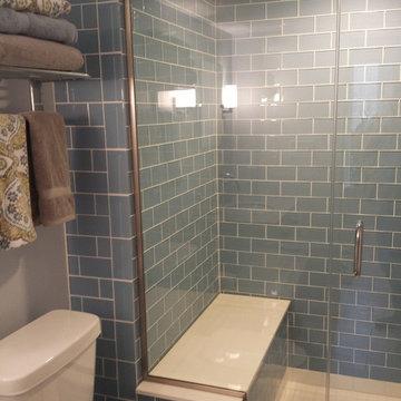 Basement Steam Shower Custom Tile