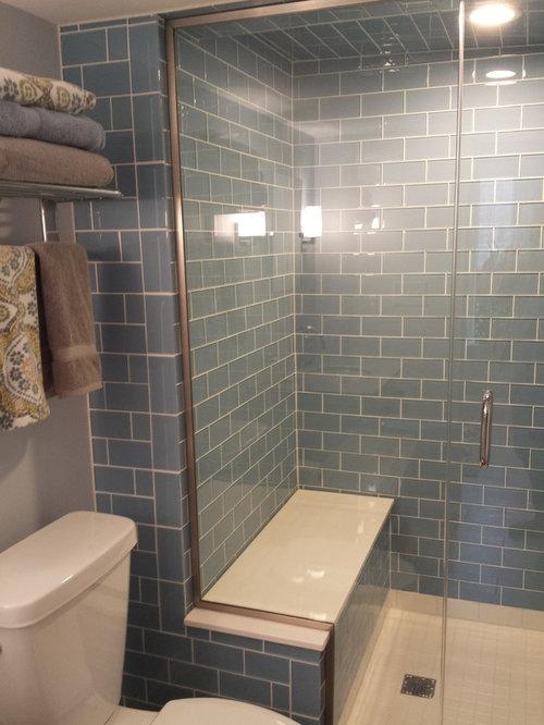 badezimmer mit duschnische und sauna ideen design bilder houzz. Black Bedroom Furniture Sets. Home Design Ideas