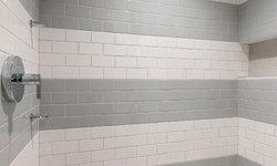 Basement Tile Shower