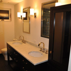 contemporary bathroom by Ventana Construction LLC