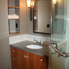 Traditional Bathroom by Custom Spaces Design