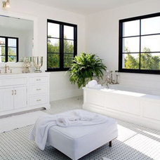 Traditional Bathroom by Mosaic Tile Stone